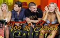 Toe of Satan Challenge   World's Hottest Lollipop! (9 Million Scoville)
