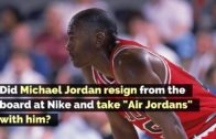 """Did Michael Jordan resign from the board at Nike and take """"Air Jordans' with him?"""