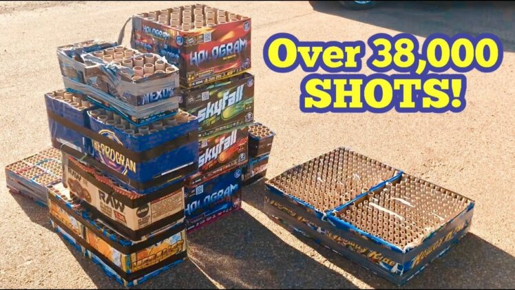 30,000 SHOTS OF FIREWORKS – ABSOLUTE INSANITY