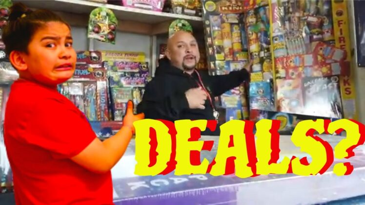 Buying Fireworks at Muckleshoot Reservation | Fireworks Shopping Deal Hunting | Fireworks Best Deal