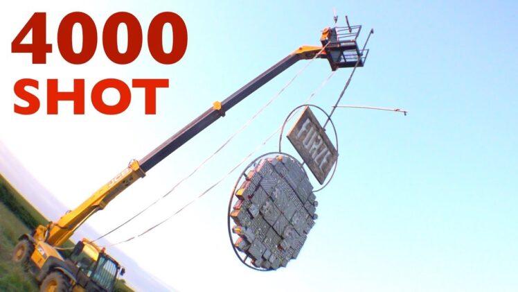 FIRING 1000 ROCKETS AT 1000 ROCKETS