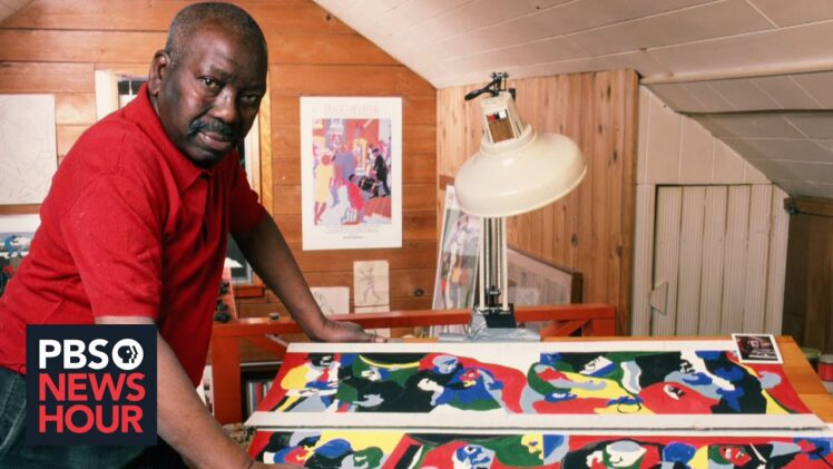 How painter Jacob Lawrence reframed early American history with 'Struggle'