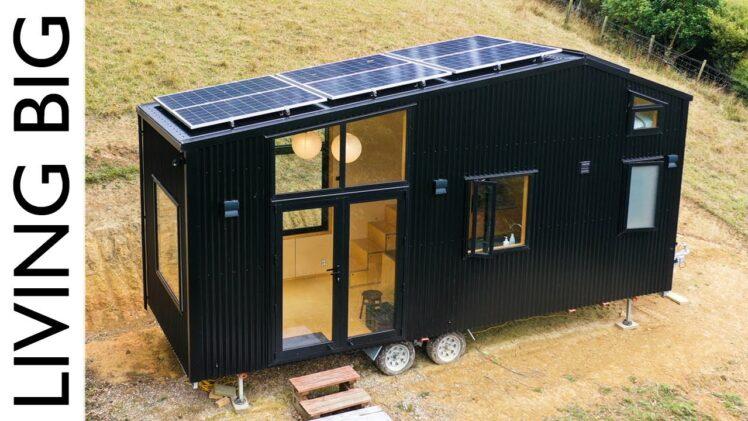 Stunning Modern, Minimalist Tiny House