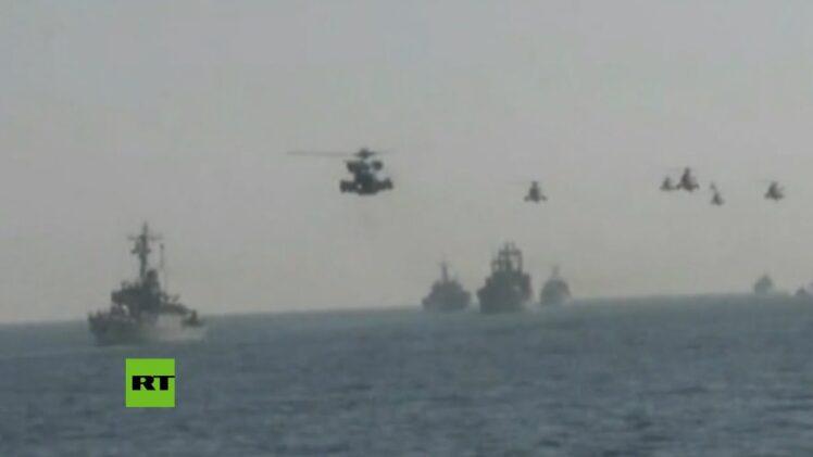 Irán realiza ejercicios navales cerca del estrecho de Ormuz
