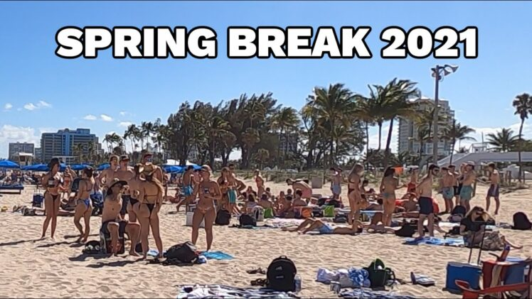 Spring Break Fort Lauderdale Beach 2021 (Filmed with Gopro)