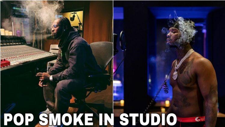 Pop Smoke In Studio